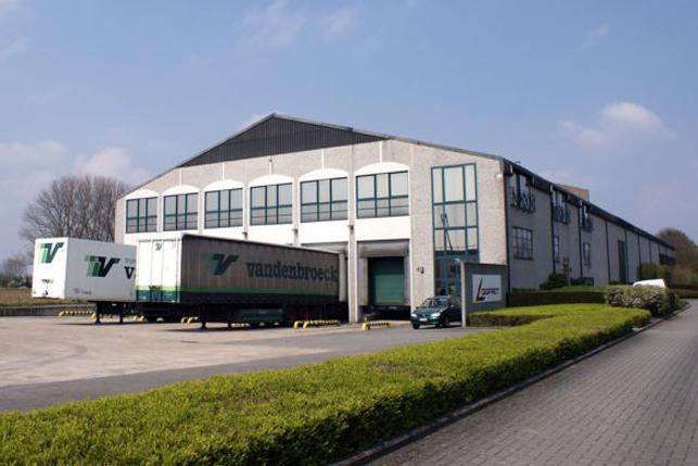 La Ville de Louvain a acquérit un bâtiment industriel à Herent