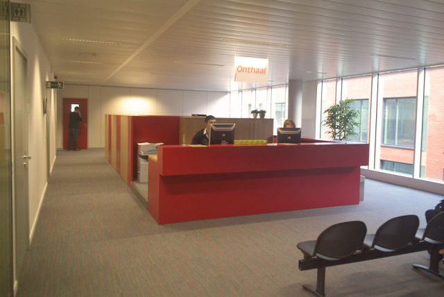 NEO has rented offices in the Vander Elst building in Leuven