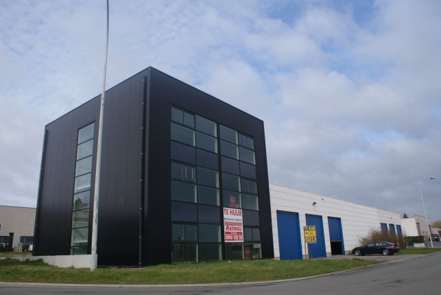 Medialine has rented a warehouse near Ghent