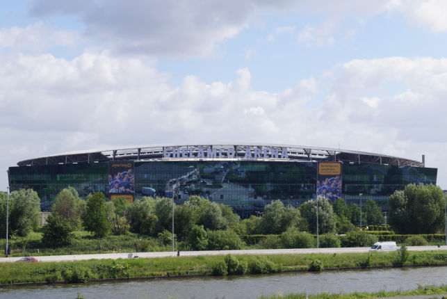 Sneakergames has rented flexoffices in the Ghelamco Arena MeetDistrict in Ghent