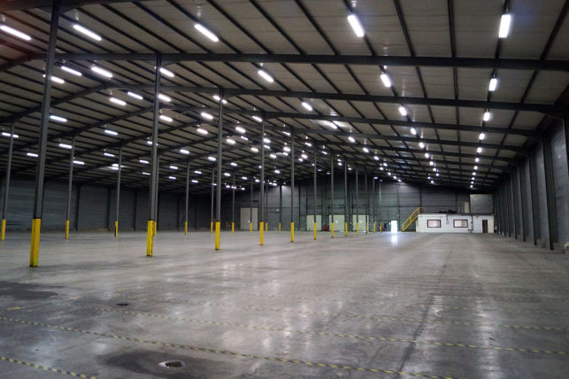 Eurogarden has rented a distribution center in Tienen