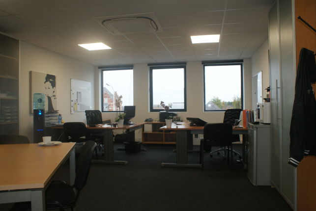 BelgoBits has rented offices in the Idola Business Center in Ghent