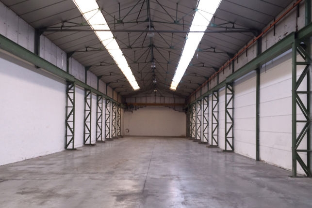 EB systems has rented a warehouse near Antwerp