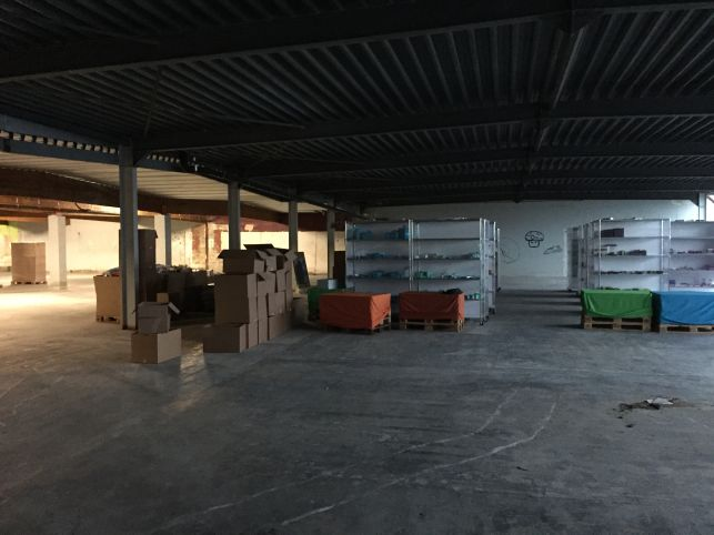 Van Osch group has rented a warehouse in Halen