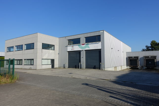 Warehouse sold to Boesman in Lochristi near Ghent