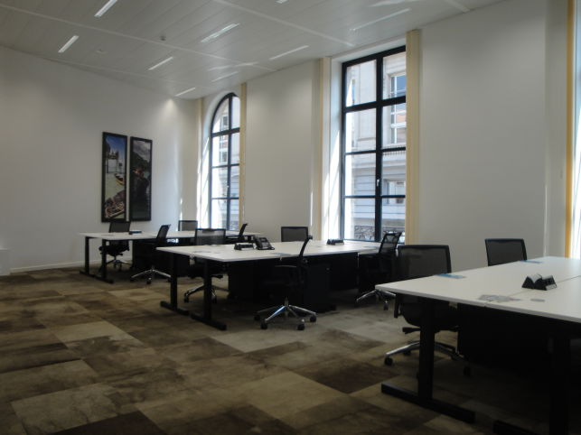 Autovista has rented offices in Brussels Central Station business center