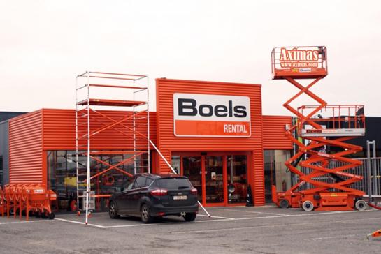Boels Verhuur ouvre showroom à Louvain