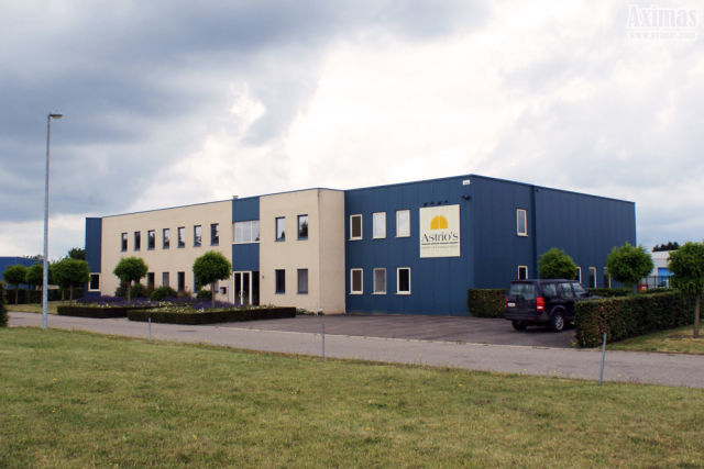 Vector international has rented offices in Bleyveld in Hoegaarden (Leuven region)