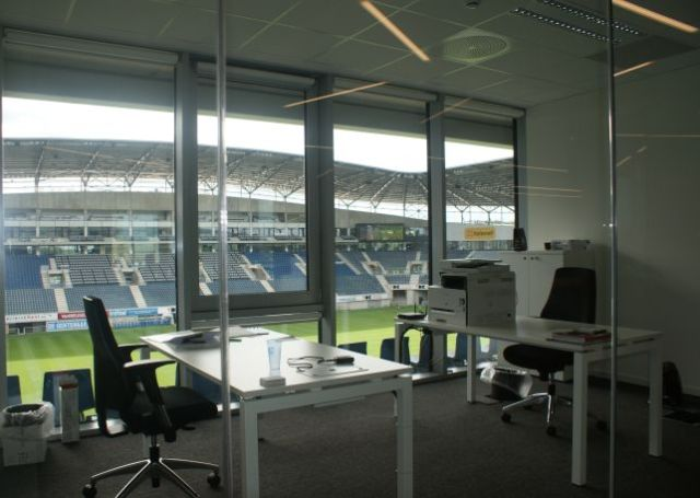 Full Version rents office in the Ghelamco Arena MeetDistrict in Ghent