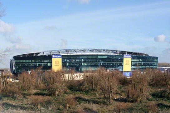 Konvert Konstrukt opent kantoor in de Ghelamco Arena in Gent