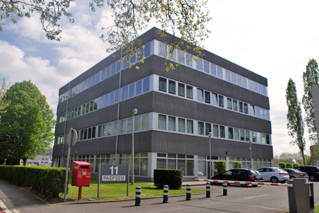 Euromaf to Paepsem Office Park in Anderlecht Brussels