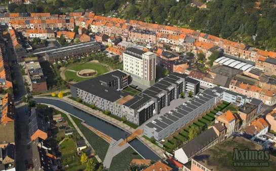Silo-T office complex in Leuven welcomes 3 new tenants