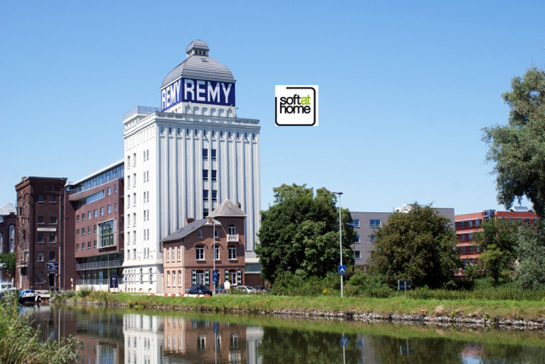 HNSA (Soft At Home) sets up its Belgian branch in the Campus Remy penthouse