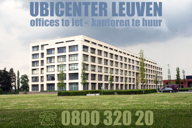 Kunstmaan has rented offices in Ubicenter Leuven