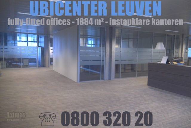De Watergroep has rented 1800 m² office space in Ubicenter near the Leuven trainstation