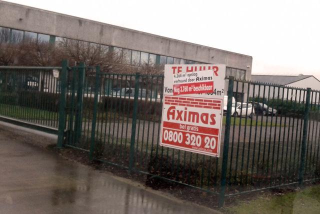 Fedasil huurt magazijnruimte in het Wingepark in Rotselaar
