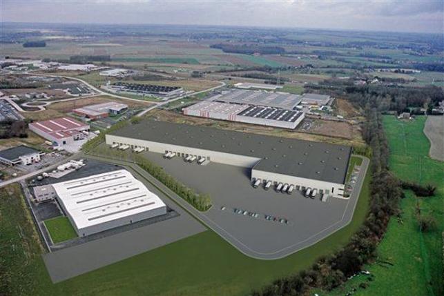 Logistiek vastgoed te huur Courcelles, Charleroi