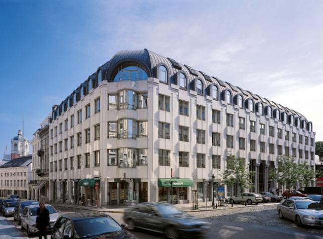 Gloednieuw passief kantoorgebouw te huur in Brussel