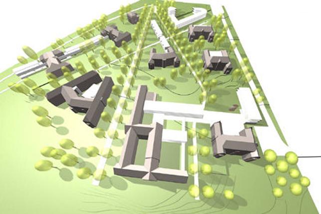 Nieuwbouw kantoor te huur & te koop in Bierkbeek - Leuven
