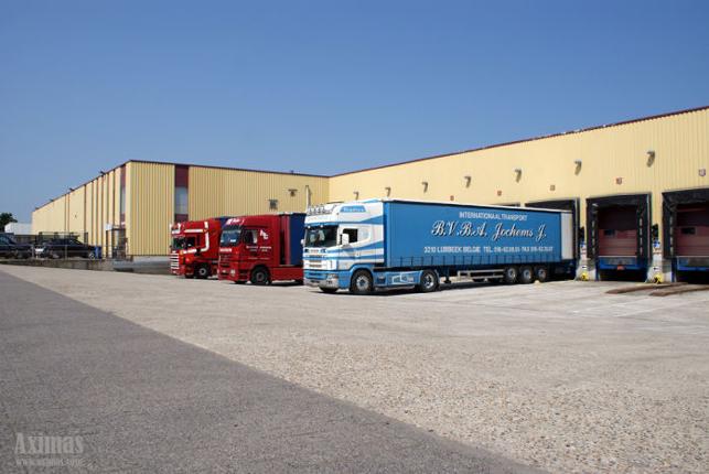 Logistiek distributiecentrum in Leuven te huur