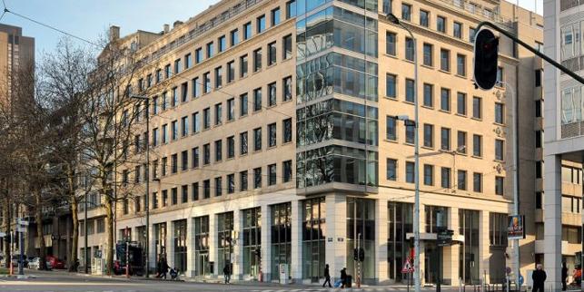 Brussel: kantoor te huur in het Royal Plaza gebouw