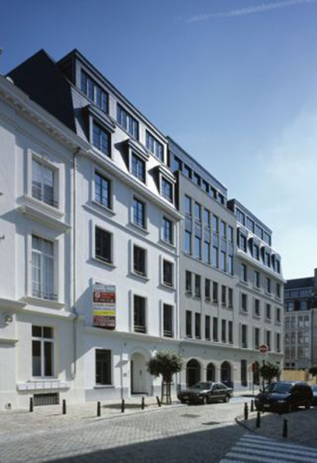 Center House: offices to let in Brussels