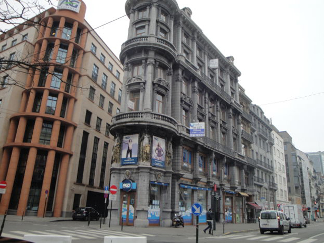 A. Max: kantoor te huur in het centrum van Brussel