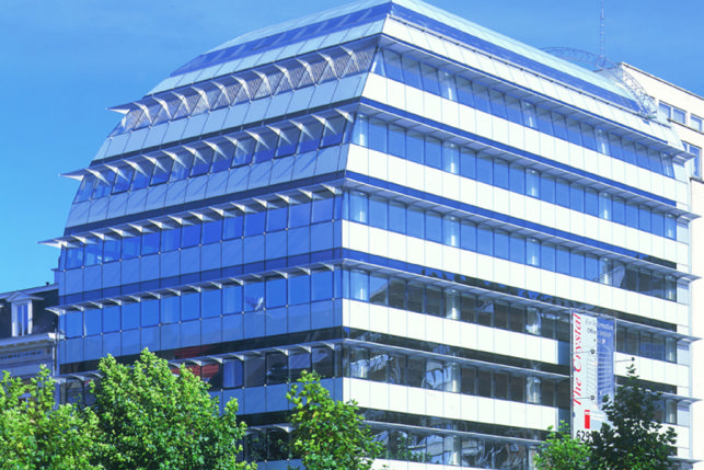 Crystal: offices to let in Brussels European district