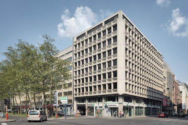 Arts 44: kantoor te huur in de Leopoldwijk in Brussel