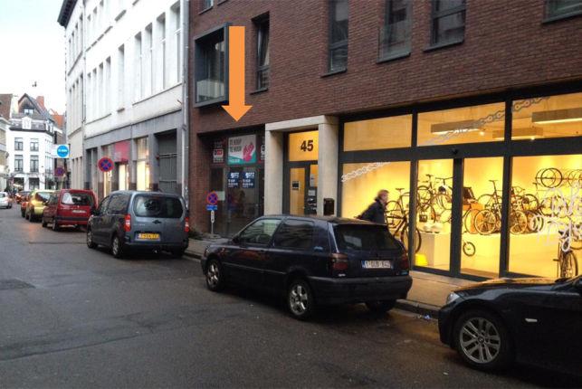 Stamps: winkel te huur in Antwerpen