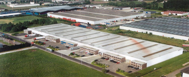Distribution center warehouse to rent in Bornem | Antwerp