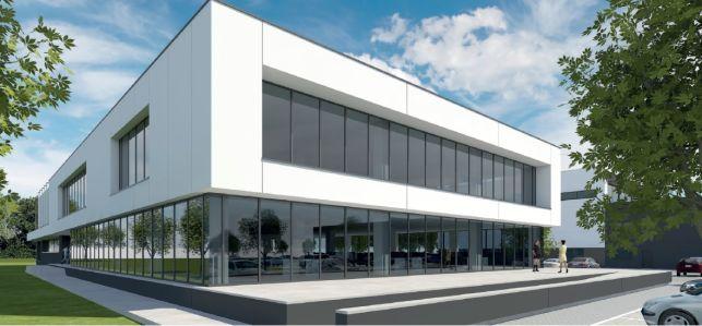 Nieuwbouw kantoren te koop / te huur in Nevele bij Gent
