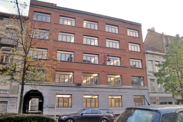 Offices to let near the Brussels Midi railway station