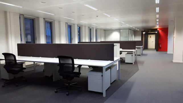 Leuven railway station office space for rent