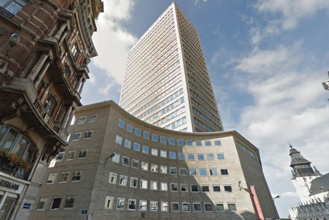 Sablon Tower - Offices to let at Place du Sablon in Brussels