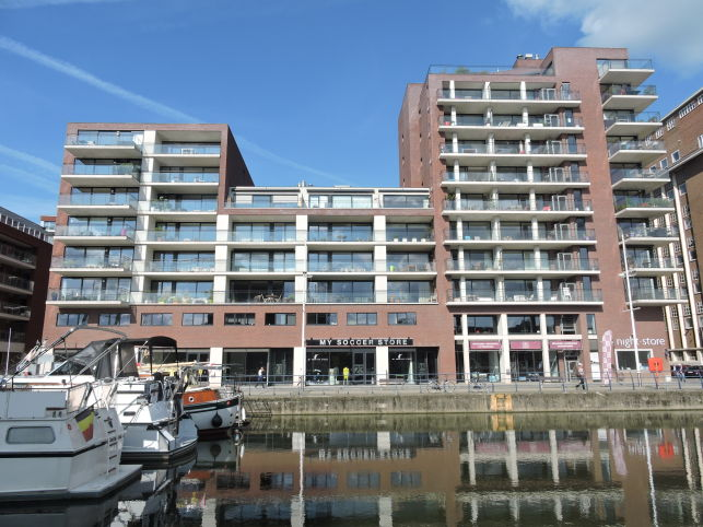 Retail outlet for rent in Leuven Waterside Boulevaart