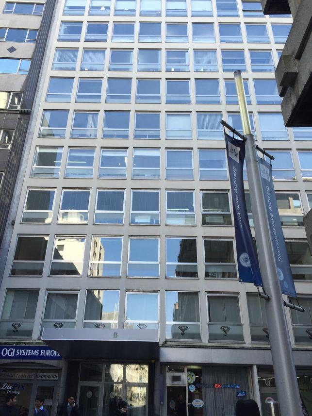 Kantoren te huur / koop in het Antwerps Diamantkwartier