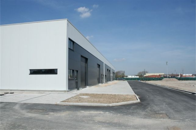 B timent industriel vendre p ripherie de bruxelles aximas - Construire un batiment industriel ...