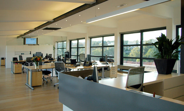 Exclusief penthouse loftkantoor te huur in Leuven