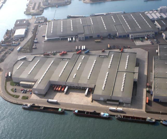 Magazijnruimte te huur in de Haven van Antwerpen
