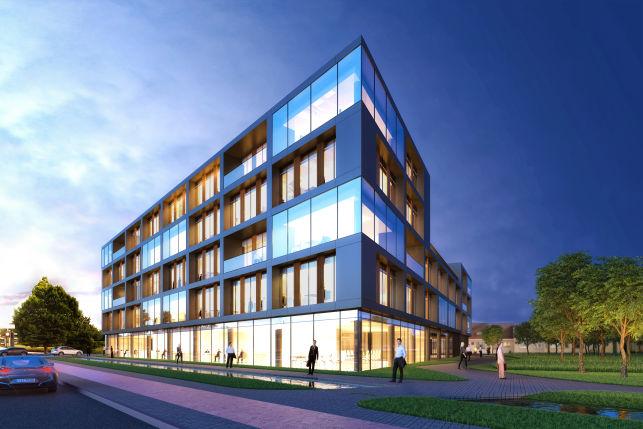 Nieuwbouw kantoren te huur in Berchem Antwerpen - De Link1
