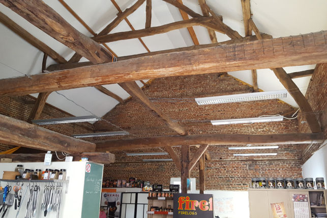 Loft office & warehouse to let in Herent Leuven
