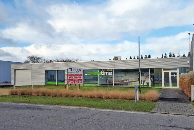 Showroom kantoor & magazijn te huur in Leuven Haasrode