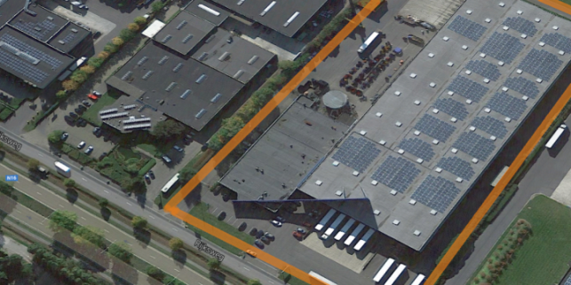 Rijksweg 17 - Distribution center for rent in Bornem near Antwerp