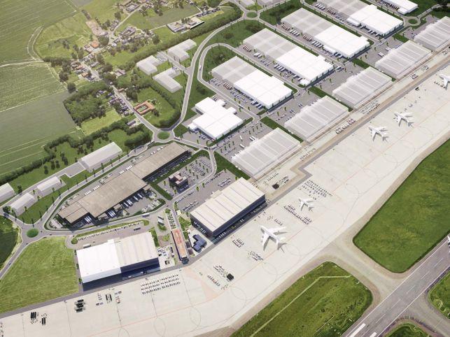 Distributiecentrum te huur aan de Luchthaven van Luik