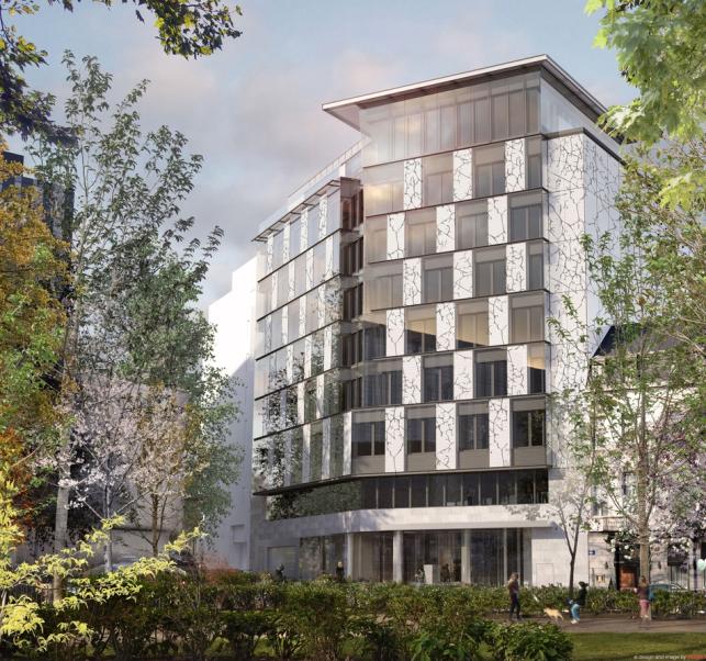 de Meeus - Nieuwbouw kantoren te huur in Leopoldwijk in Brussel