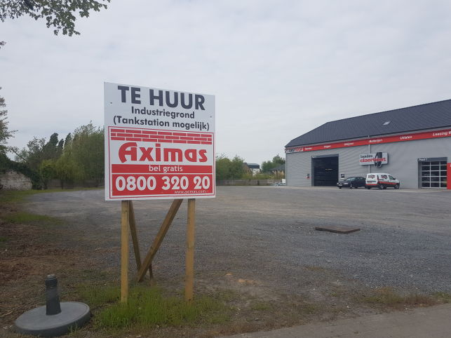 Tank station in Kruishoutem op toplocatie