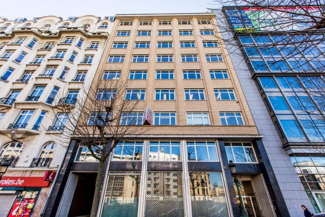 Brussel Sainctelette - kantoren te huur aan de Noordwijk
