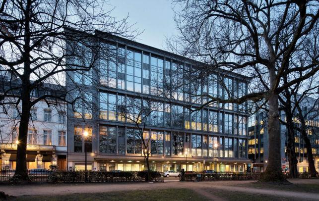 Kantoor te huur in de Leopoldwijk in Brussel