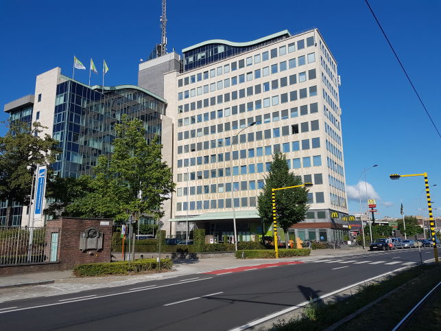 Offices to let near city-center in Ghent